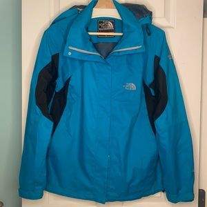 NWOT The North Face Summit Series Gore-Tex XCR Large Turquoise Jacket